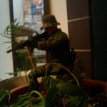 GI Joe guarding my living room