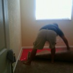 Taking up carpet
