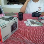Arrival of Canon EOS 60D