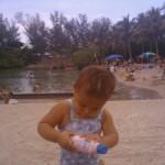 At Dubois Beach