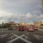 Okeechobee into West Palm Beach