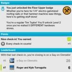 A new foursquare badge