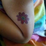 My toddler's tattoo