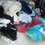 The pile of laundry after our vacation