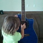 Toddlers and Guitars