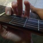 Toddler's Asleep Time to Play Guitar