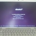 Testing Ubuntu on this old MacBook Pro