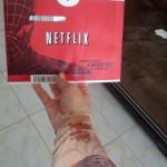 Halloween Netflix Envelope