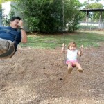 Daddy Daughter Swinging