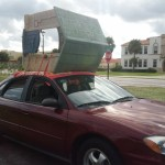 Transporting a House